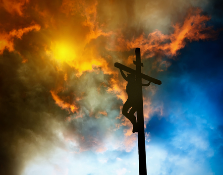 Photo for Jesus on the cross - Royalty Free Image