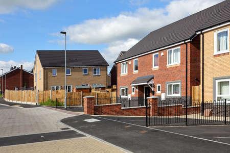Photo pour Modern english street view - image libre de droit