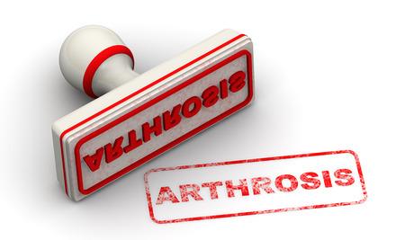 Arthrosis. Seal and imprint