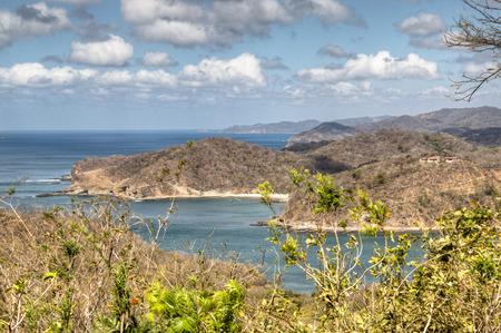 View over the beautiful bay of San Juan del Sur in Nicaragua