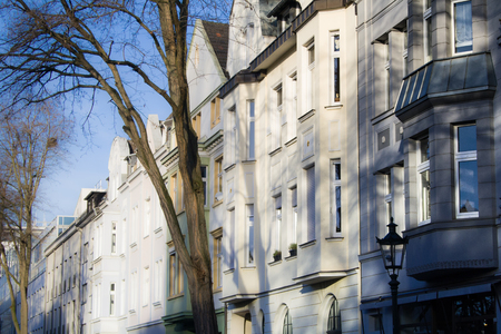 Facades of old buildings