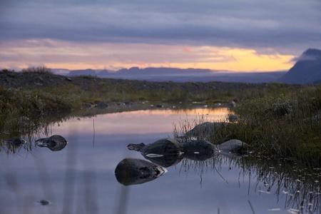 Sunset in Skaftafell