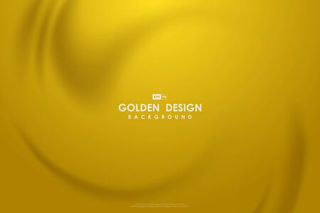 Illustration for Abstract golden mesh design of pure soft mesh decorative premium background. - Royalty Free Image