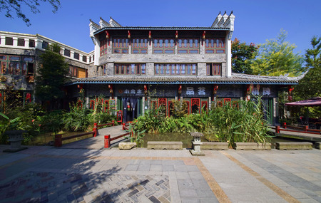 Landscape architecture in the Hui Li