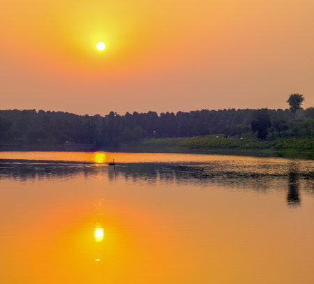 Sunrise in West Lake