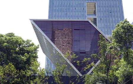 Facade of Xinhua Building