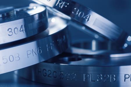 Photo pour Metal flange ring - image libre de droit