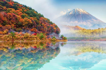 Photo for Mt.Fuji in autumn - Royalty Free Image