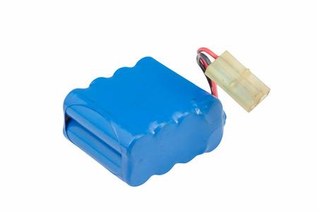 Foto für blue Battery pack isolated on white background - Lizenzfreies Bild