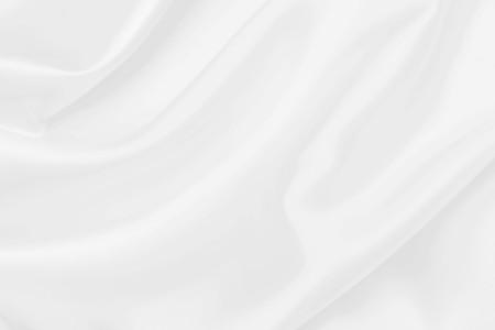 Photo pour white satin fabric texture soft blur background - image libre de droit