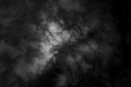 Photo for white cloud and black sky textured background - Royalty Free Image