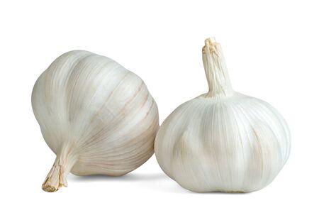Foto für garlic isolated on white background - Lizenzfreies Bild