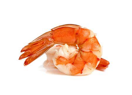 Photo pour shrimp isolated on white background - image libre de droit