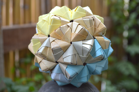 Star Sonobe by Maria Sinayskaya — Instructions | Go Origami | 299x450
