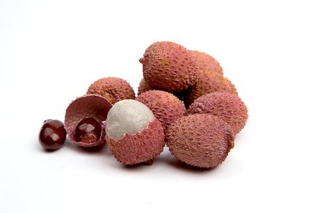 exotic fruit  Lychee