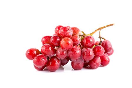 Photo pour fresh grape on white background. - image libre de droit