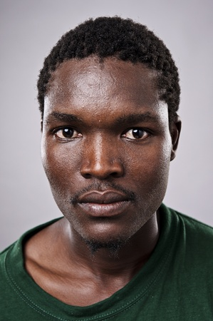 Amanzingly high detailed portrait of an African face, must see at full size.