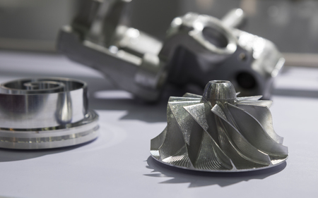 Photo pour the impeller for automotive industry - image libre de droit