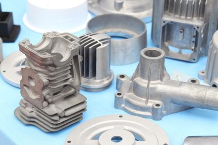 Photo pour as cast  aluminium high pressure die casting part for automotive and electrical equipment - image libre de droit