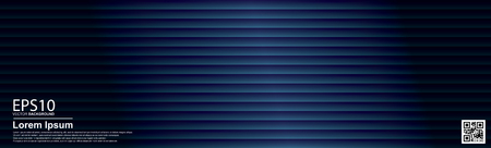Abstract vector geometric colorful pattern background. Dark blue / Poster, banner template.