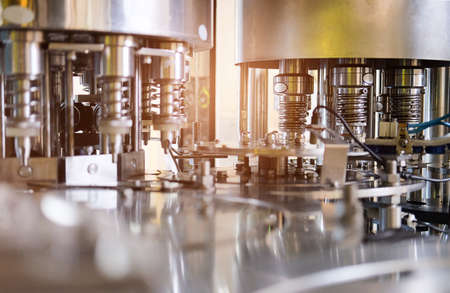 Foto für Industrial machinery in the production line and Industrial Factory equipment stainless automation. - Lizenzfreies Bild