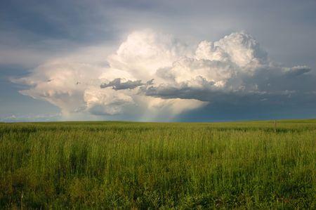 Spring Thunderstorm over the Colorado plains