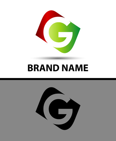 Vector illustration Logo design template letter g