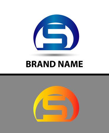 Alphabetical Logo Design Concepts. Letter S