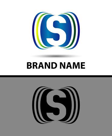 Abstract Vector Logo Design Template S