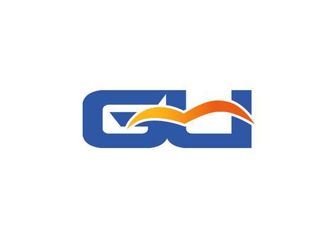Gu letter logo