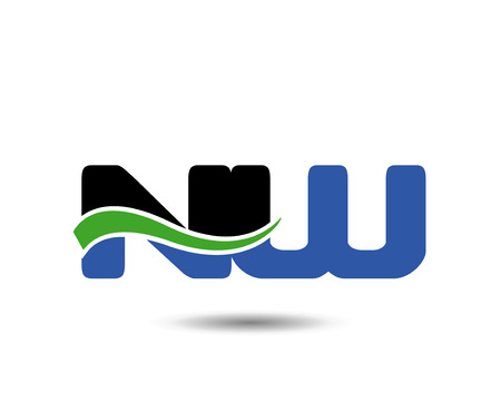 Linked company  icon letter NW