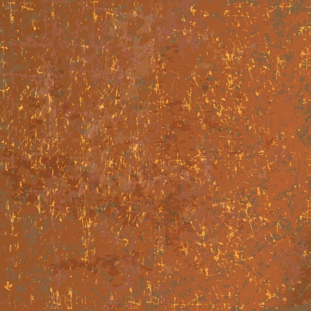 Rusted metal background (vector illustration)