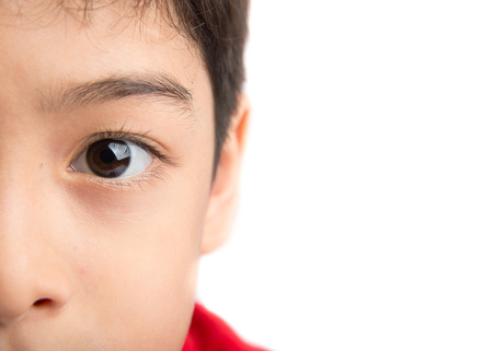 Photo for Close up eyes of boy - Royalty Free Image
