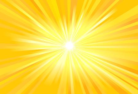 Ilustración de Sun rays vector illustration - Imagen libre de derechos