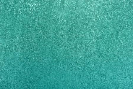 Photo pour Turquoise color leather texture background. - image libre de droit