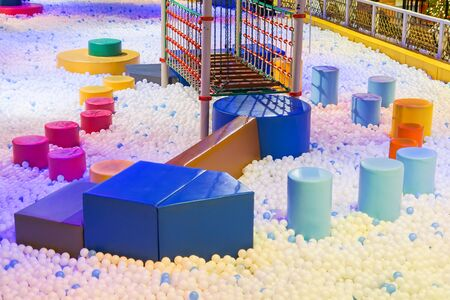 Photo pour Indoor ball pit for kids - image libre de droit