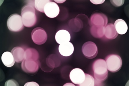 Pinky Bokeh Background. Cool Out of Focus Christmas Lights. Dark Pink Background.