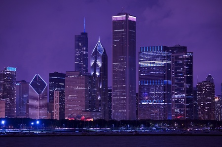Chicago murals skyline wallpaper for Chicago skyline mural wallpaper