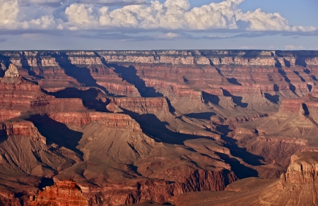 Scenic Grand Canyon - World Famous and Largest Canyon. Arizona, USA. Nature Photography Collection.