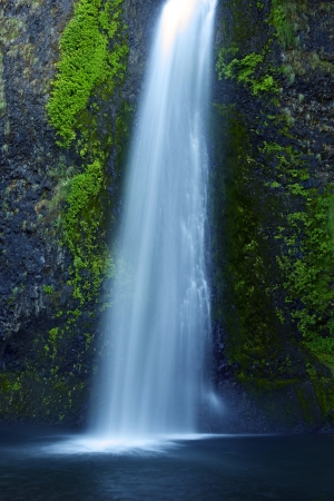 Oregon Waterfall. Waterfalls Photo Collection. Oregon USA.