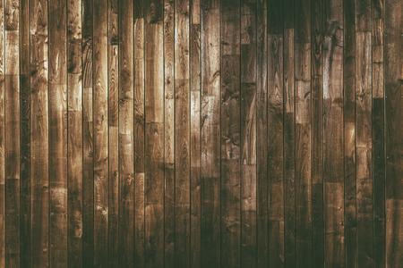 Aged Wood Planks Background. Dark Brown Wooden Texture.