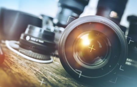Professional Photography Equipment.