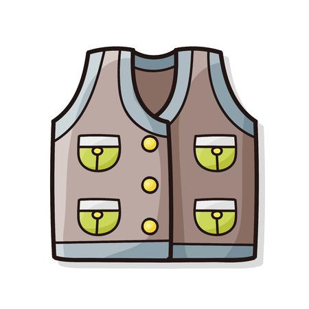 Fishing vest doodle