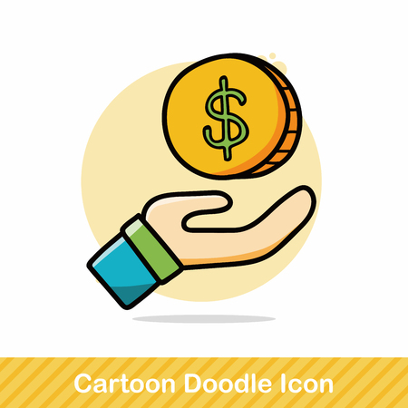 money doodle: Royalty-free vector graphics