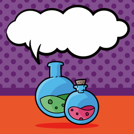 toxic doodle, speech bubble