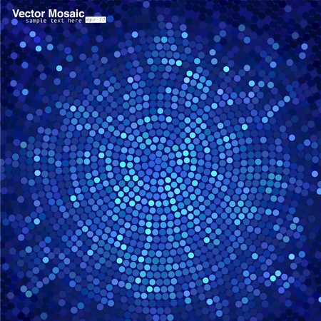 Illustration for vector mosaic - Royalty Free Image