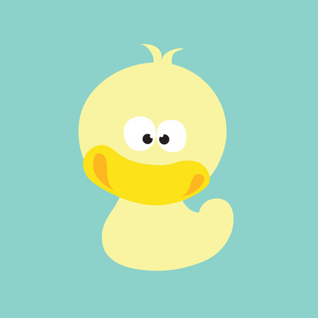 quacked up duck vector