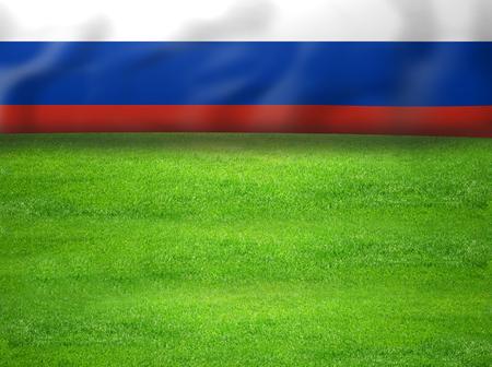 rusia flag sports