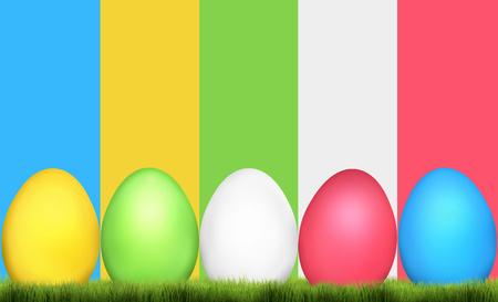 Easter Eggs Festive Elements