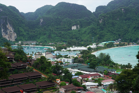 Ko Phi Phi Thailand view point overview